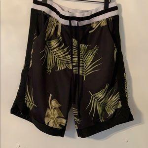 Pacsun tropical shorts